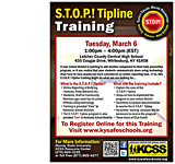 S.T.O.P.! Tipline Training