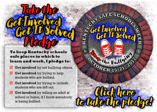 Take the Get Involved Get It Solved Pledge