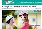 5 Ways to Teach Kindness to Kids