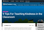 9 Tips for Teaching Kindness in the Classroom