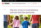 Play nice: How to teach kids to be kind