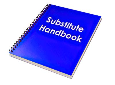 Substitute Handbook Image