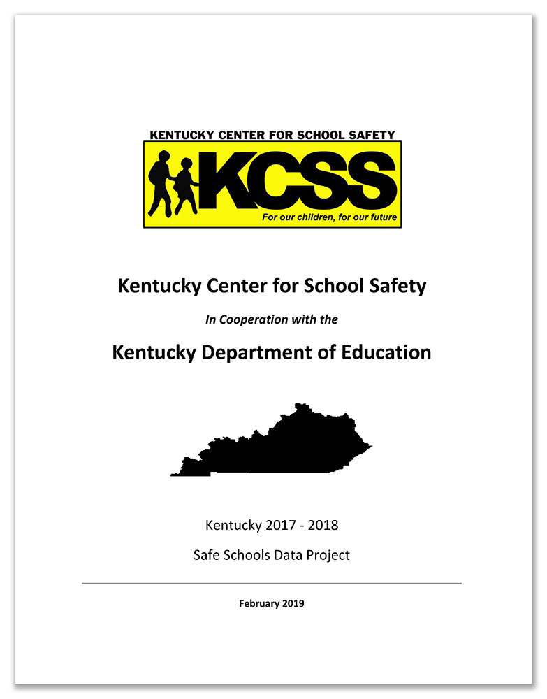 REP School Safety Data Report Cover