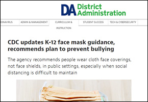 RES Pandemic COVID Website Image District Administration Mask Guidance