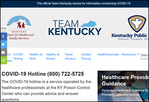 RES Pandemic COVID Website Image KY Cabinet
