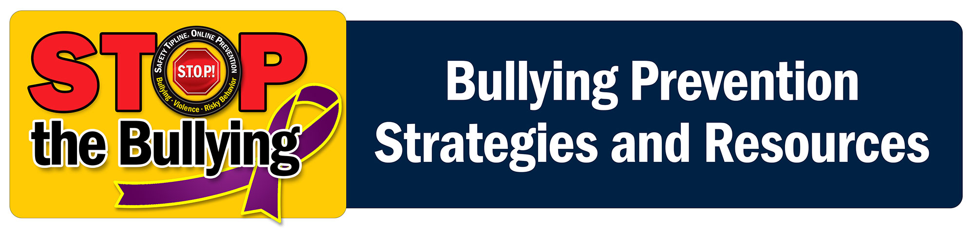 SSI Bullying Stop the Bullying Header