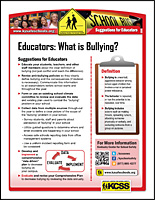 SSI Bullying Website Image KCSS Educators handout