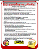 SSI Bullying Website Image KCSS Prevention handout