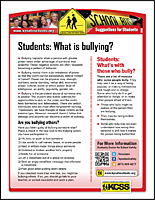SSI Bullying Website Image KCSS Students handout