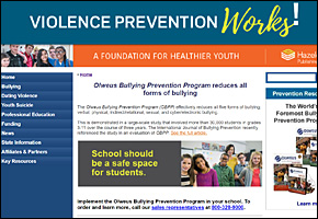 SSI Bullying Website Image Olweus