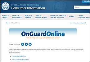SSI Bullying Website Image OnGuard Online