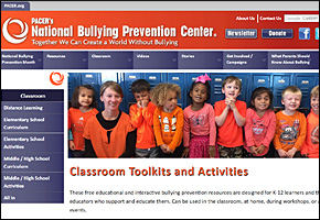 SSI Bullying Website Image Pacer National Bullying Prevention Center