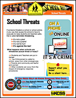 SSI Bullying Website Image KCSS School Threats