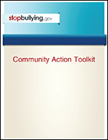 SSI Bullying Website Image StopBullying.Gov Community Action Toolkit