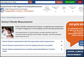 SSI Classroom Management Website Image Safe Supportive Learning