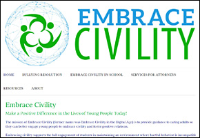 SSI Cyber Bullying Website Image Embrace Civility