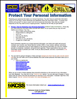 SSI Cyber Bullying Website Image KCSS Removing Personal Information