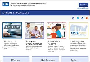 SSI Drug Abuse Website Image CDC Tobacco