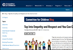 SSI Empathy Website Image Committee for Children