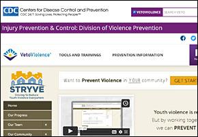 SSI Gangs Website Image CDC STRYVE
