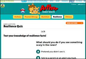 SSI School Violence Website Image KET Arthur Quiz
