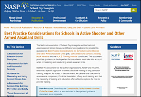 SSI School Violence Website Image NASP Questions to Ask