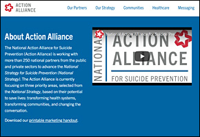 SSI Suicide Website Image Action Alliance