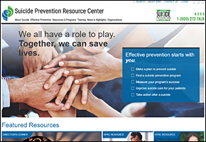 SSI Suicide Website Image Suicide Prevention Resource Center