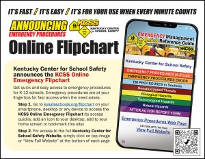RES KCSS Online Flipchart Handout Image Emergency Management Quick Reference Guide