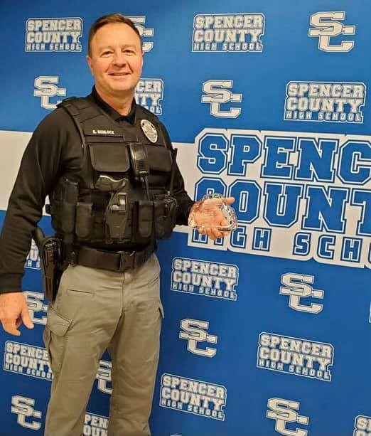 SRO Ed Sedlock Taylorsville Police Spencer County Schools