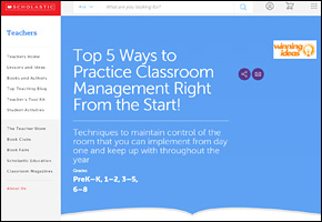 SSI Classroom Management Website Image Scholastic Top 5 Ways to Practice Classroom Management Right From the Start