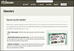 SSI Internet Safety Website Image NSTeens