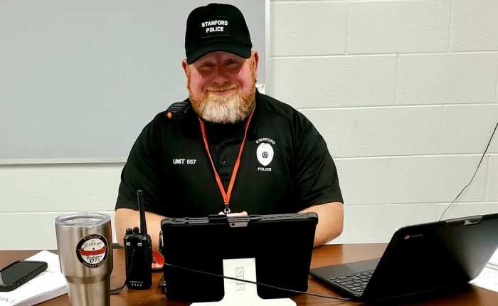 Lincoln County Middle School SRO Mike Southerland