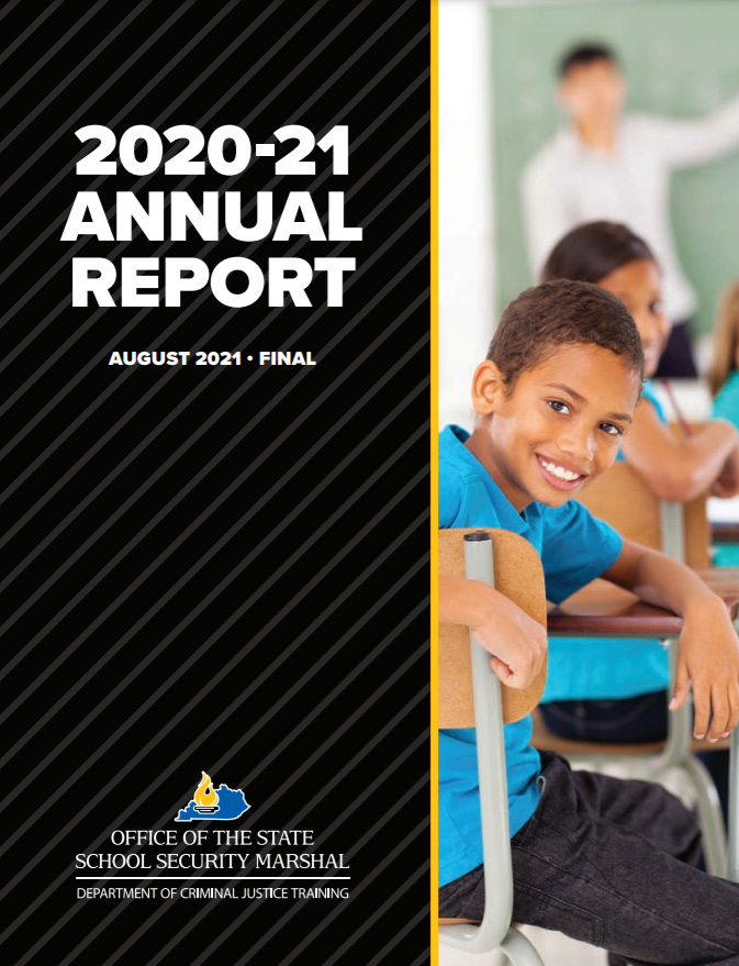 2020-2021 Annual OSSM Report cover