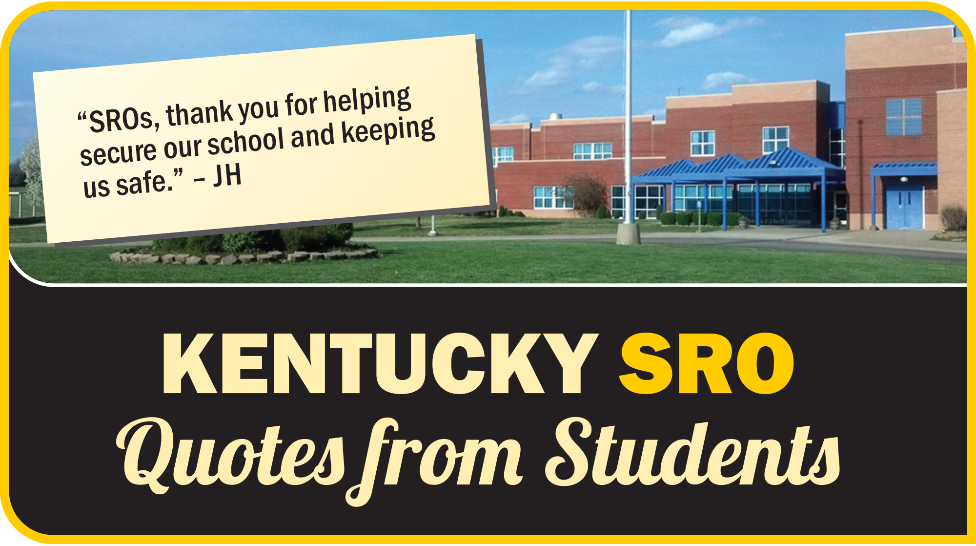 Lincoln County Middle School KY SRO Quotes from Students
