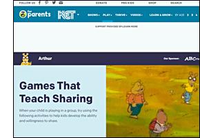 SSW KY Safe Schools Week 2021 resource image PBS Games Teach Sharing