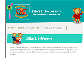 SSW KY Safe Schools Week 2021 resource image PBS Life's Little Lessons