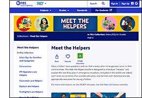 SSW KY Safe Schools Week 2021 resource image PBS Meet the Helpers