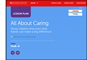 SSW KY Safe Schools Week 2021 resource image Scholastic All About Caring