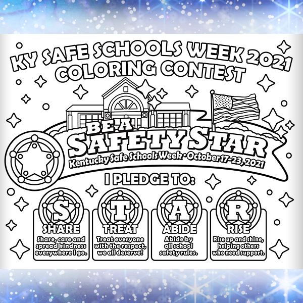KY Safe Schools Week 2021 Classroom-Coloring Page