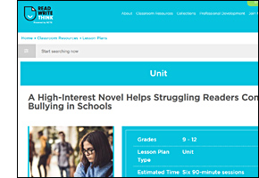 School Safety Issues Bullying Website Thinkfinity