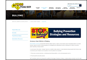 SSW KY Safe Schools Week 2021 KCSS Bullying