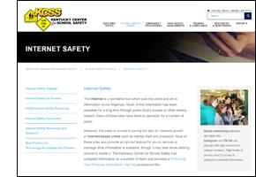 SSW KY Safe Schools Week 2021 KCSS Internet Safety
