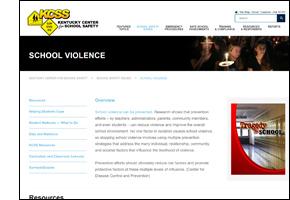 SSW KY Safe Schools Week 2021 KCSS School Violence
