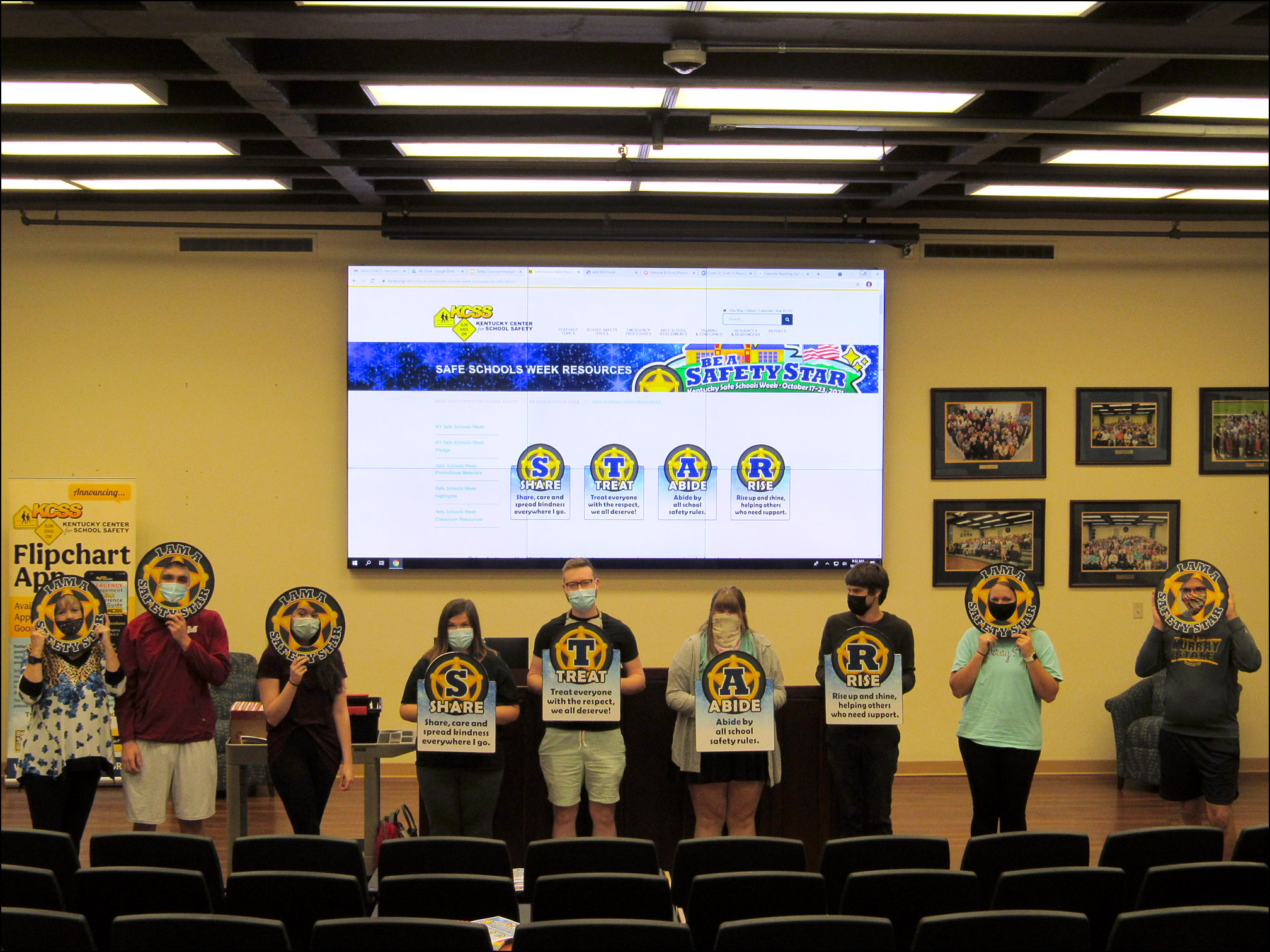 SSW 2021 SEC 420 Murray State - KY Safe Schools Week